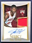 JIMMY BUTLER Auto ROOKIE RC Jersey # 399 2012-13 Select Autograph MIAMI HEAT