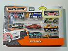 Matchbox Gift Pack 10 Mitsubishi Lancer Police Exclusive Vehicle 9 Cars NEW