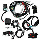 Full Wiring Harness CDI Coil Solenoid Stator GY6 150cc 125ATV Quad Buggy Go kart