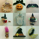 H28 HALLOWEEN ORNAMENTS Each priced separately MANY CHOICES Witch Ghost Pumpkin