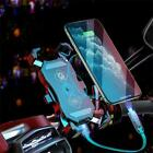 Universal Motorcycle ATV Scooter Moped Wirelesss USB Charger Cell Phone Holder