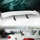 UNIVERSAL 57 GT WING DRAGON 2 STYLE PAINTED WHITE TRUNK ADJUSTABLE SPOILER WING