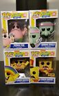 Funko Pop! Nickelodeon Spongebob Lot of 4 Vinyl New HT Exclusive