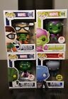 Funko Pop! Marvel Spider-Man Villains Lot of 4 Vinyl New Exclusive