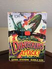 1988 Topps DINOSAURS ATTACK Trading Cards Box Unopened 48 Packs!