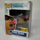 Funko POP DISNEY Young Moana 218 Disney Movie Hot Topic Exclusive (Damaged Box)