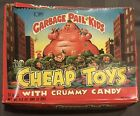 1986 Garbage Pail Kids Cheap Toys Crummy Candy Open Box with 24 SEALED BAGS!