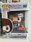Funko Pop! Television Bob Ross And Pea Pod #560 Target Exclusive New In Box