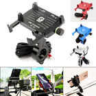 Motorcycle ATV Moped Scooter Cell Phone Holder Mount w USB Charger Function