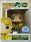 Funko Shop EXCLUSIVE Pop Television - STEVE IRWIN with Snake -IN STOCK!!