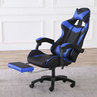 Computer Gaming Racing Chair Leather High-back Office Recliner Desk Seat Swivel