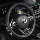15 Car Steering Wheel Covers For BMW 1 3 5 7 X1 X3 X5 X6 Series Genuine Leather