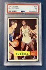 1957 Topps Basketball Bill Russell SP ROOKIE RC #77 PSA 5 EX CENTERED!