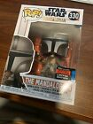FUNKO POP THE MANDALORIAN 330 NYCC 2019 FALL CONVENTION with sticker