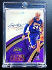 2016-2017 PANINI IMMACULATE KOBE BRYANT TIME GREATS AUTOGRAPH FLAWLESS AUTO 35