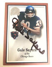 Gale Sayers 2000 Fleer Greats of the Game Auto Signed Autograph Chicago Bears