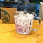 HOT Starbucks Color changing Lavender Glass Coffee Mug Korea Cup Limited Edition