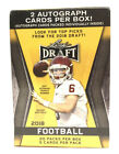 2018 Leaf Draft Football Blaster Box 20 Packs Of 5 Cards With 2 Autographs - New