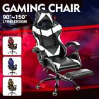 Racing Gaming Chair Executive Computer Office Chair Desk Seat Swivel Recliner
