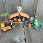 Fisher Price Little People Christmas Nativity Lil Shepherds 18 pieces See Video