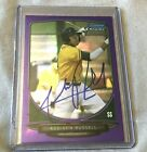 ADDISON RUSSELL 2013 Bowman Chrome Rookie Purple Refractor 27 199 In-Person Auto