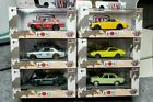 M2 MACHINES AUTO JAPAN SERIES 1 SET OF 6 WALMART BLUEBIRD GT R SKYLINE NISSAN