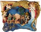 125 H LED Light Up Christmas Book with Nativity Scene