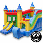 Commercial Castle Bounce House Jumper with Slide 100 PVC Inflatable Only