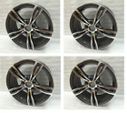 18 Black CSL Style Wheels Rims Fit BMW Z3 Z4