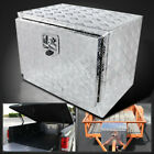 24x18 Aluminum Truck Underbody Tool Box Trailer Tool Storage Under Bed