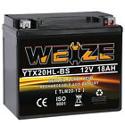 AGM Battery for HARLEY DAVIDSON FXST FLST 1450 YAMAHA YFM660FA YFM660FP Grizzly