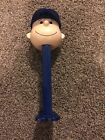 Peanuts Charlie Brown Musical Giant Pez Dispenser 2002 12 inch Chicago Cubs