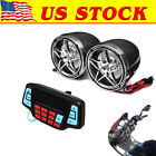 Handlebar Bluetooth Motorcycle Stereo Speaker Audio System MP3 ATV UTV 4Wheeler