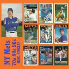New York Mets 1970s 1980s 1990s  MISCELLANEOUS SINGLES