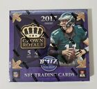 2017 Panini Crown Royale NFL Football Retail Box - BRAND NEW & FACTORY SEALED!