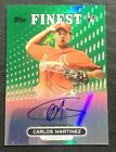 2013 Topps Finest Baseball Rookie Autographs Guide 36