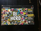 PS2  PS3 DJ Hero Turntable Kit with Game Complete In Box  See Details