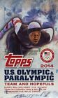 2014 Topps US Olympic and Paralympic Team and Hopefuls Trading Cards 13