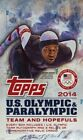 2014 Topps US Olympic and Paralympic Team and Hopefuls Trading Cards 18