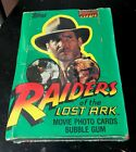 1981 TOPPS Raiders of the Lost Ark UNOPENED WAX BOX - 36 Packs SEALED
