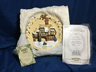 David Winter Miss Belles Christmas Plaque Ltd Edition, 1995, #452 out of 4000