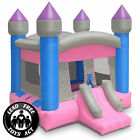 Commercial Princess Castle Bounce House 100 PVC Bouncer Inflatable Only