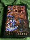 DANCING WITH DEMONS Lucy Taylor SIGNED Hardcover FIRST Limited Obsidian 1998