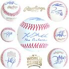**SUPER RARE** (7) Chicago Cubs Team Signed 2016 World Series Baseball Autograph