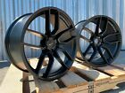 SET OF 4 Dodge Hellcat Staggered Wheels OE 20x95 20x105 Challenger Charger RT