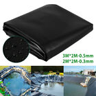 NEW Outdoor Fish Pond Liner Membrane Reinforced Garden Pool Landscaping Supplies