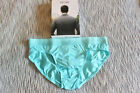 HOM men turquoise blue cotton modal mini brief slip underwear size S M or L