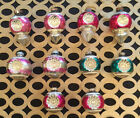 Vintage Lot Shiny Brite 10 Double Indent Blown Glass Ornaments