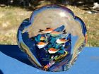 VTG Murano GLASS Fish AQUARIUM Heavy Glass PAPERWEIGHT