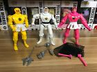 Bandai Mighty Morphin Power Rangers Ninja Rangers Action Figures Lot